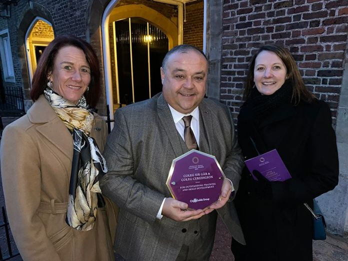 Welsh Training Businesses Receive Royal Recognition from HRH