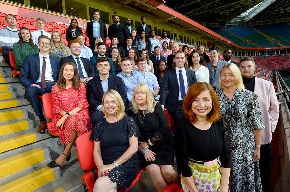 Wales' Only FTSE 100 Company Celebrates Graduate Programme